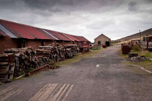 Big Pit lumber yard