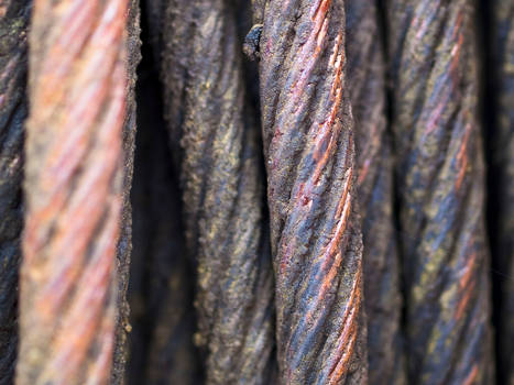 Steel cable macro