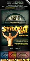 Strong Men Flyer Template
