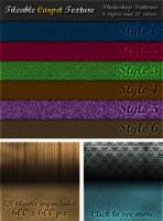 6 Tileable Carpet Textures by survivorcz