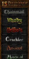 15 Photoshop Text Effects