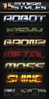 15 Metallic Modern Styles