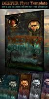 Deeper Flyer Template by survivorcz