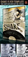 Party Shake Flyer Template