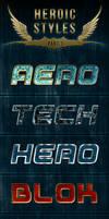 Heroic Photoshop Styles