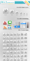 55 Social Media Icons UPDATED