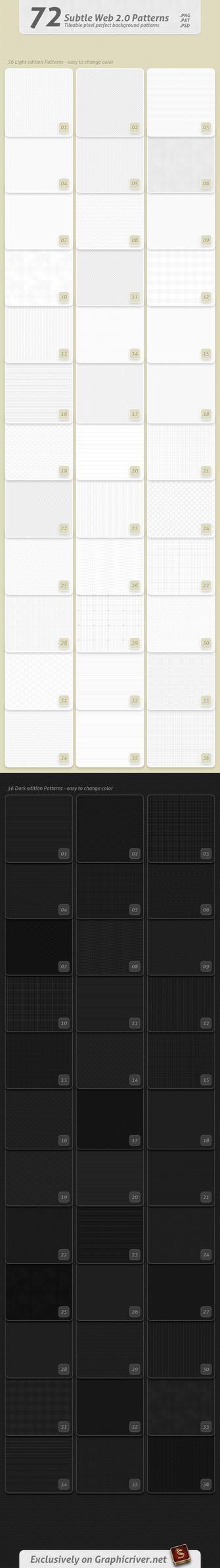 Subtle Web 2.0 Patterns by survivorcz