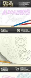 Pencil Creator - Photoshop Actions by survivorcz
