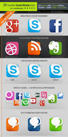 53 Social Media Icons - Creative edition