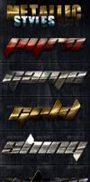 Metallic Photoshop Styles - Part 4