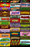 Cartoon and Comic Book Styles BUNDLE by survivorcz