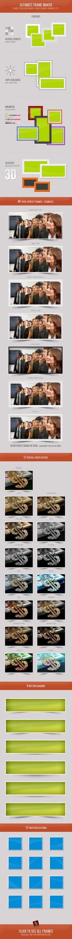 Photoshop Frame Maker by survivorcz