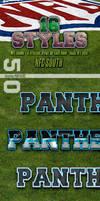 NFL Football Photoshop Styles - NFC South