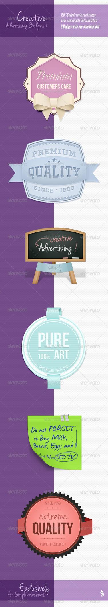 Creative Web Badges 1 by survivorcz