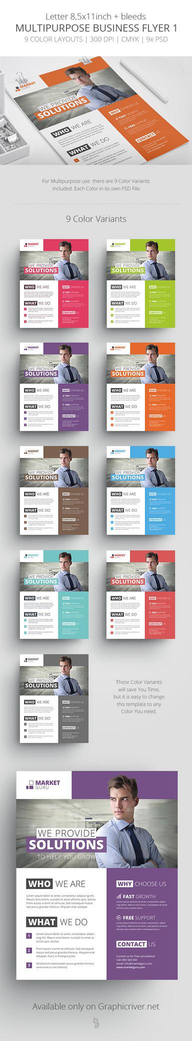 Multipurpose Business Flyer - 1 by survivorcz