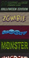 Cartoon and Comix Styles - part 9 - Halloween edit