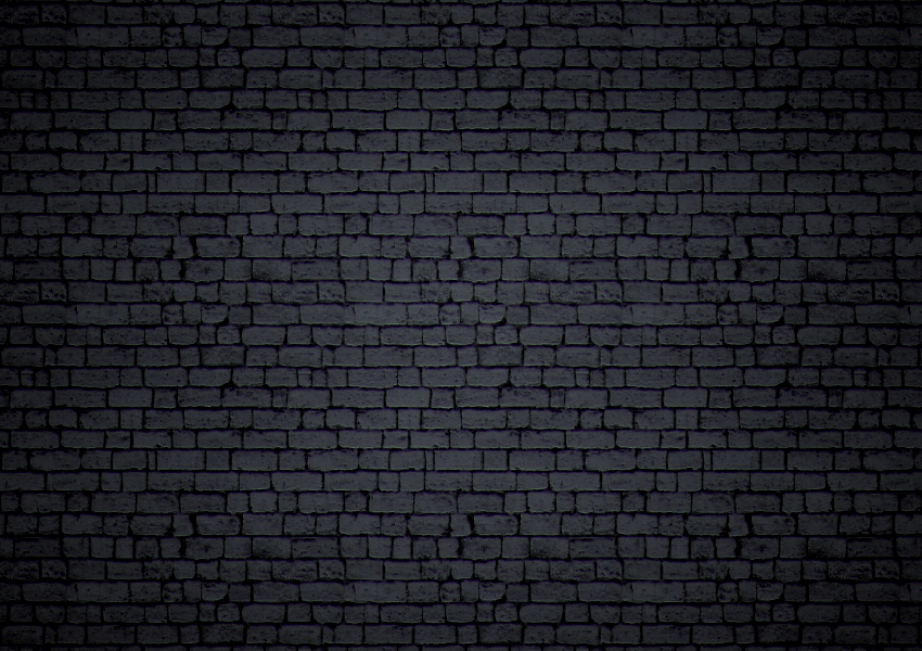 Black Brick Background by survivorcz