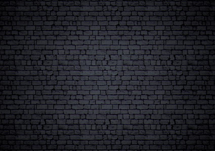 Black Brick Background by survivorcz