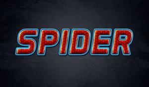 Free Spiderman Text Effect - Photoshop Tutorial by survivorcz