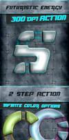 Energy Photoshop Action - 300 DPI