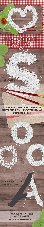 Rice Photoshop Action by survivorcz