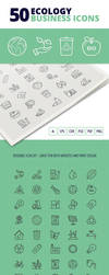 50 Ecology Business Icons by survivorcz