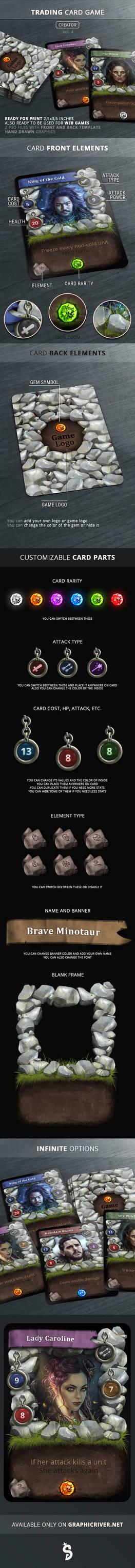 Trading Card Game - Creator - vol.4