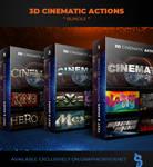 3D Cinematic Photoshop Actions - Bundle by survivorcz