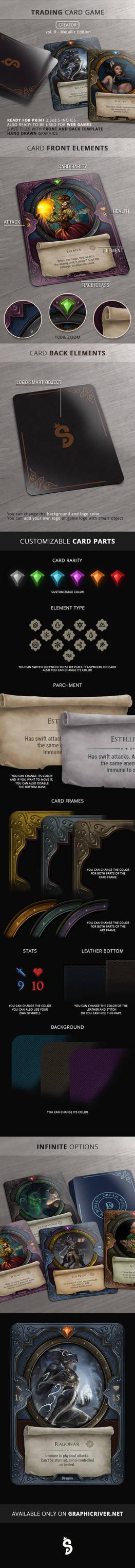 Trading Card Game - Creator - vol.9
