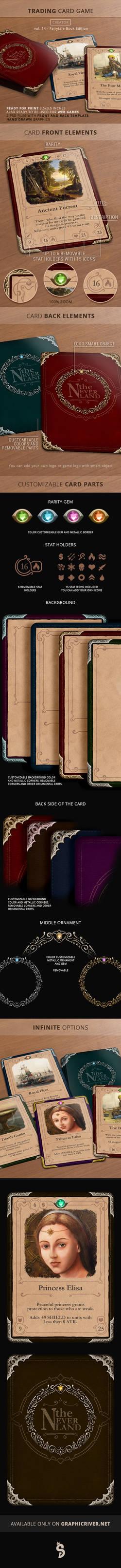Trading Card Game Creator - 14 - Fairytale Book