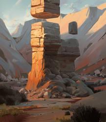 Valley Pillar