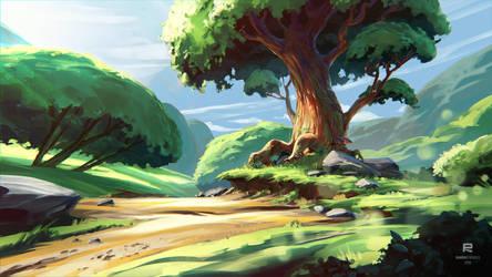 Hero Tree Painting