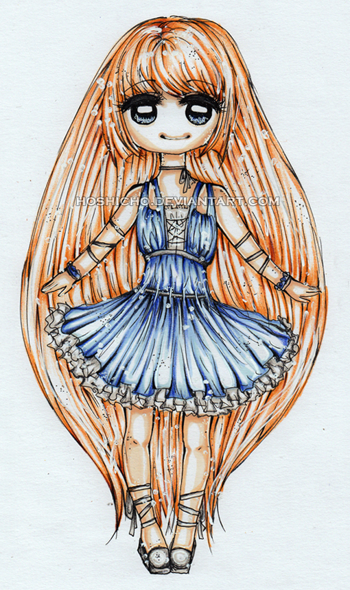 Chibi Hana by hoshicho