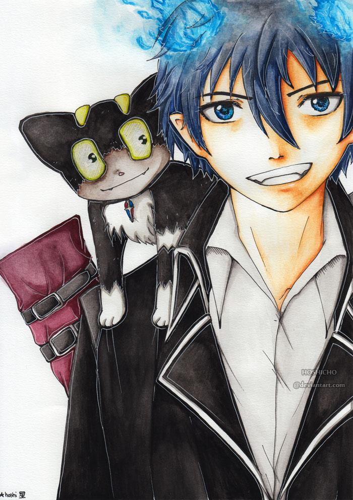 Rin and Kuro \\ by hoshicho
