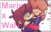 Mario x Waluigi stamp by chirpxy