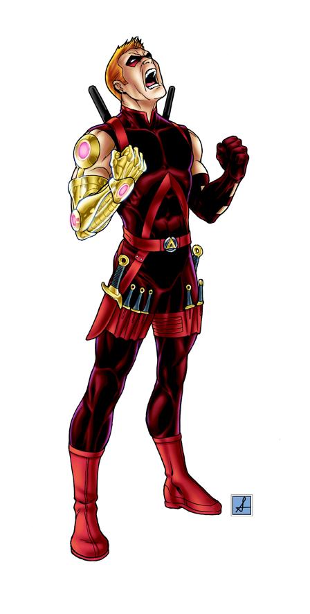 Characters Roa_arsenal_by_sean_izaakse-d3fejia