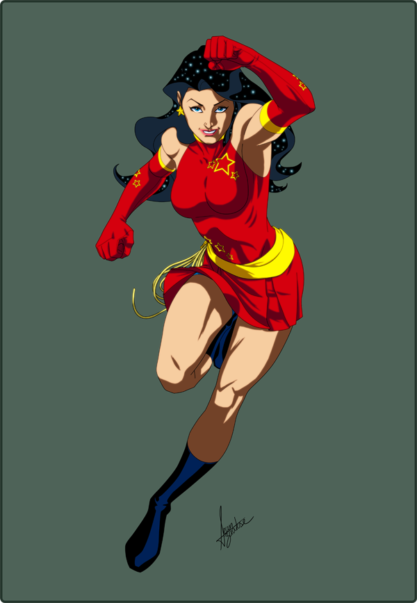 Wonder girl comic young justice