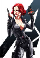 Avengers Movie Black Widow by sean-izaakse