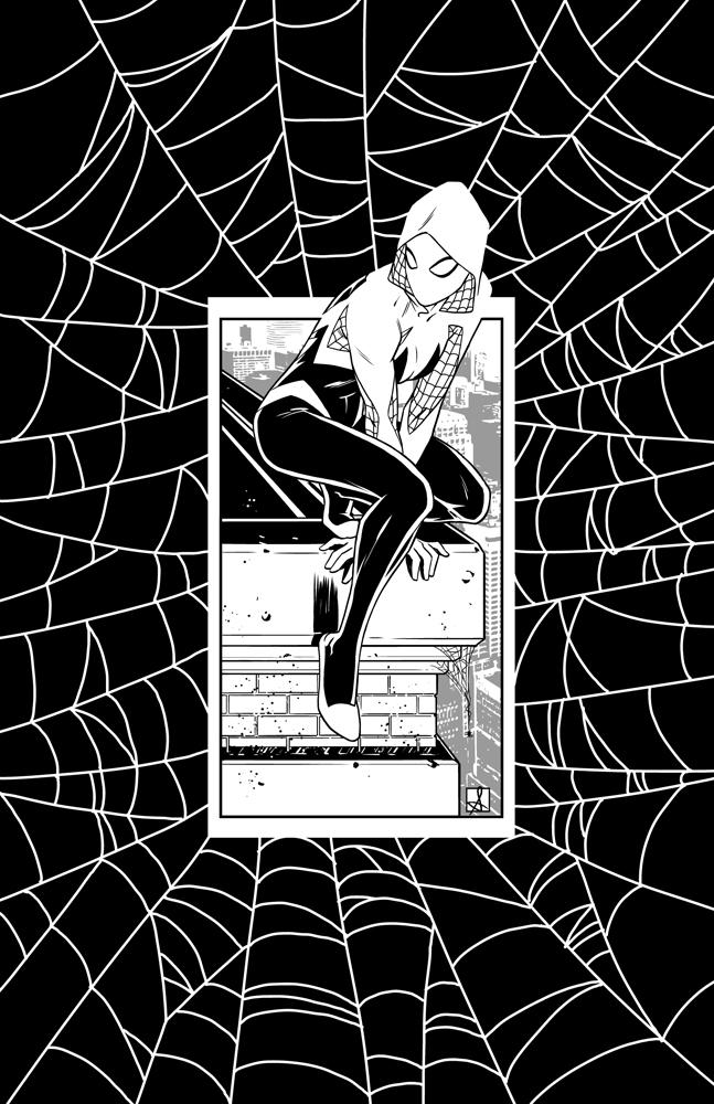 Spider-Gwen by sean-izaakse