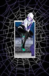 Spider-Gwen in colour