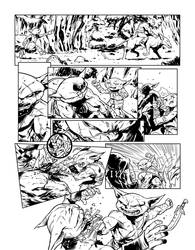 Pathfinder Goblins Pg 2 for GTM Mag by sean-izaakse