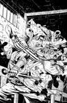 Pathfinder Origins 4 Cover Inks by sean-izaakse
