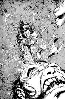 Pathfinder Origins 1 Cover Inks