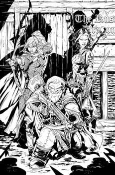 Pathfinder Origins 5 Cover Inks