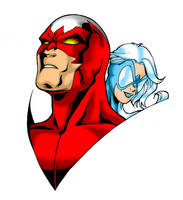 Hawk and Dove by sean-izaakse