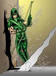 Green Arrow colour