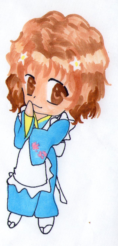 Cute Anime Girl By Baka-customs On DeviantArt
