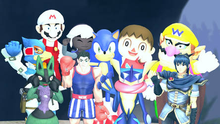SSB4 Gmod Group Picture