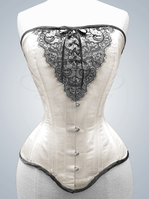 Overbust Corset 'Astarte' by v-couture-boutique