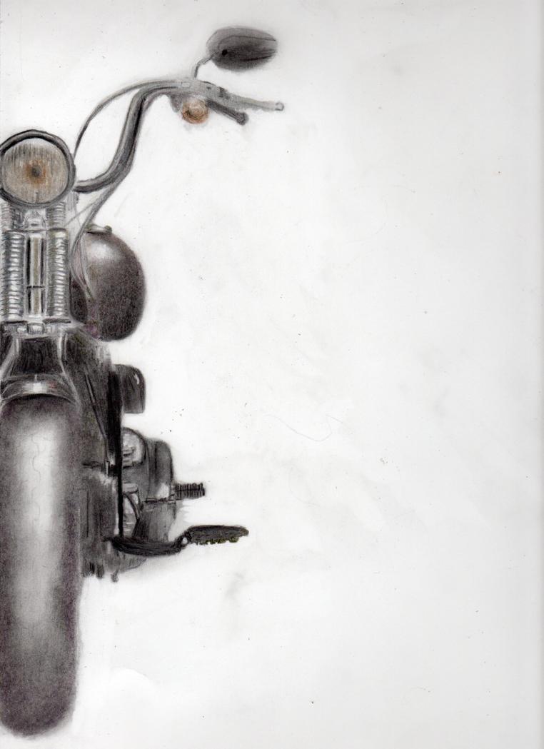 Harley Davidson by werewolflegs